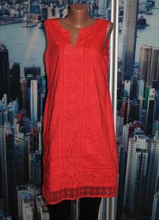 Платье 100% котон  вишивка