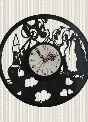 Часы из пластинки домашние животные