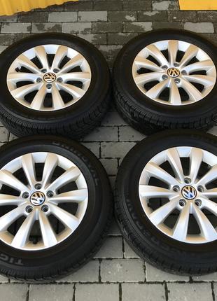 Диски (титани)  Volkswagen R16 5*112