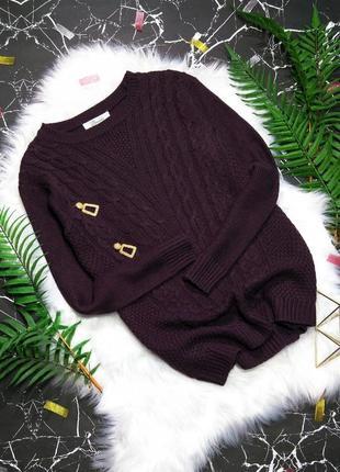 💕 акриловый свитер цвета бургунди 💕