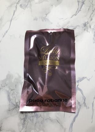 Paco rabanne lady million empire парфюм