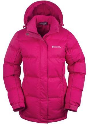 Куртка женская зимняя mountain warehouse snow womens padded ja...