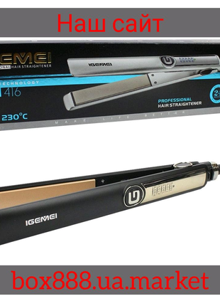 Утюжок выпрямитель для волос GM 416