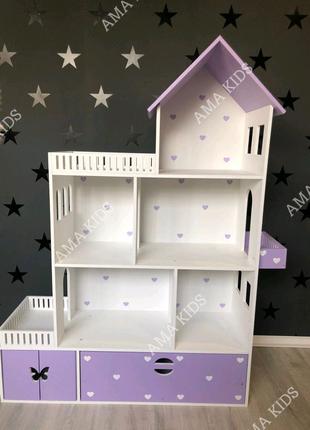 Кукольный домик, ляльковий будиночок, домик для Барби, ЛОЛ