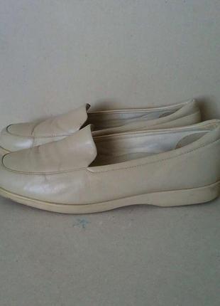 Туфли мешти мокасины слипоны топсайдеры кожаные k clarks р. 7 ...