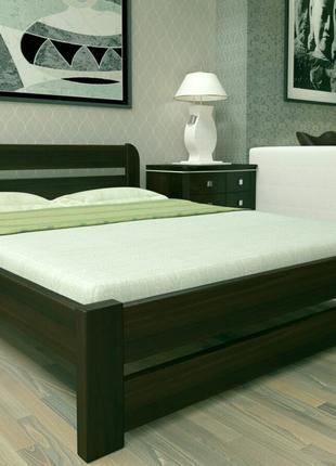 Топ Деревянная кровать ЭКО 1 год Гарантия 140X200 двуспальная