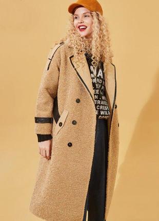 Пальто шуба очень стильное брендовое