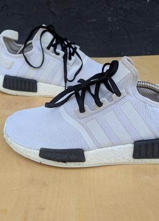 Adidas nmd r1 oreo white/core black bb196 оригинал original