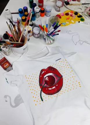 ВЫЕЗДНОЙ МК: Роспись футболок в Запорожье