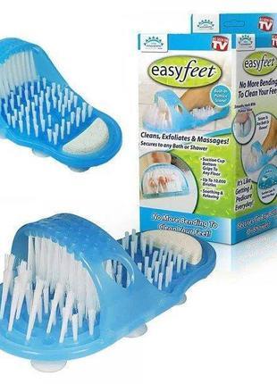 Массажный тапочек с пемзой Simple Slippers easy feet