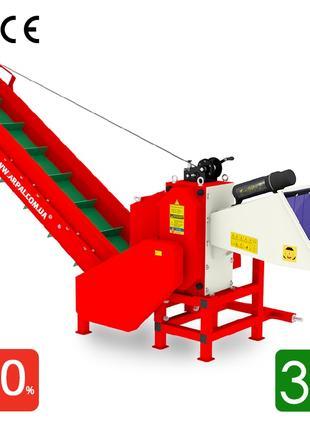 Измельчитель веток, дробилка, подрібнювач гілок АРПАЛ АМ-120ТР-К