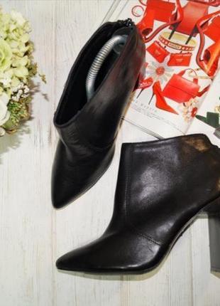 Mohito. кожа. роскошные ботинки, ботильоны оригинального дизайна