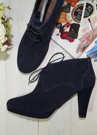 🌿41🌿footglove. замша. красивые ботинки, ботильоны