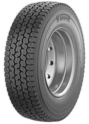Грузовые шины 225/75 R17,5 Michelin X Multi D (ведущая) 129/127M