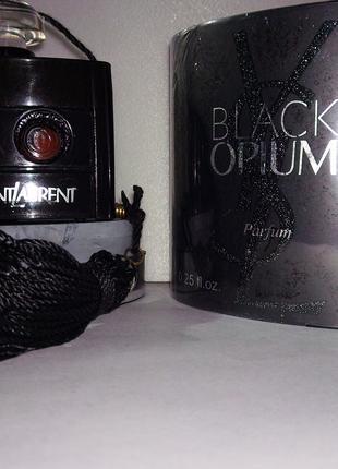 Black opium yves saint laurent 7.5 мл. духи