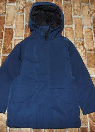 куртка парка мальчику 6 лет зимняя Некст