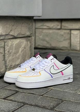 Кроссовки  nike air force 1 low day of the dead
