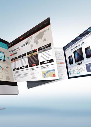 Создание Сайтов. Разработка Сайта/Лендинга. Продвижение сайта.
