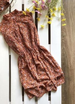 Крутое платье туника цветы