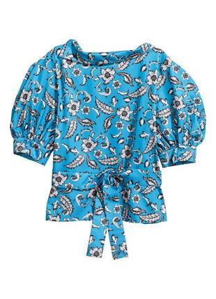 Блуза рубашка топ с поясом
