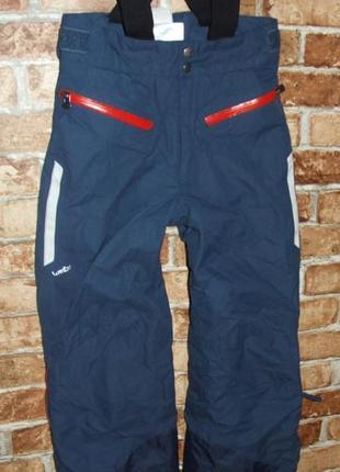 Термо штаны мальчику полукомбинезон 10 лет лыжные штаны