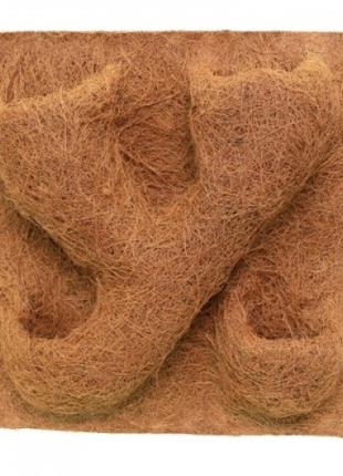 Фон структурированный из кокосового волокна 40x40 см