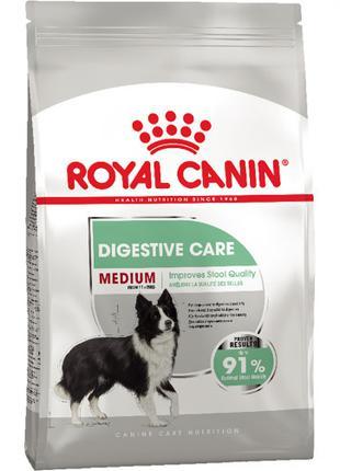 Сухой корм Royal Canin Medium Digestive Care при чувствительно...