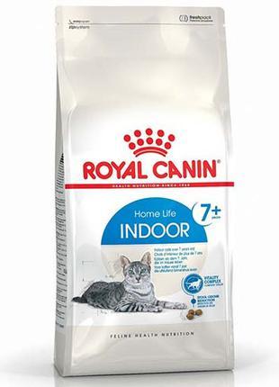 Сухой корм Royal Canin Indoor 7+ для кошек старше 7 лет постоя...