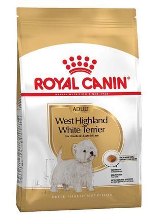 Сухой корм Royal Canin West Highland White Terrier Adult для в...