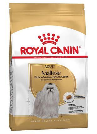 Сухой корм Royal Canin Maltese Adult для мальтийской болонки, ...