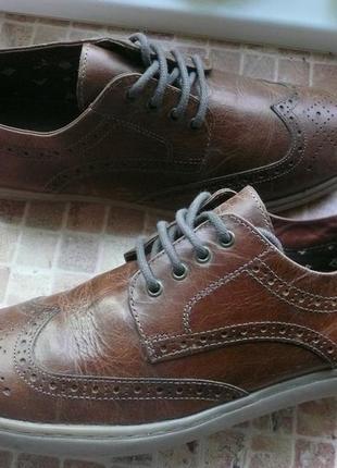 Туфли мужские  redtape кожа
