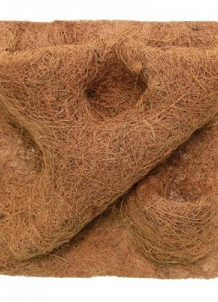 Фон структурированный из кокосового волокна 30x30 см