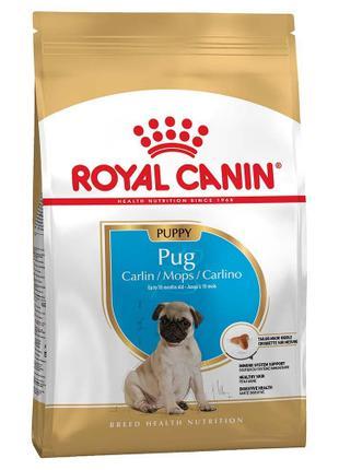 Сухой корм Royal Canin Pug Puppy для щенков мопса до 10 месяце...