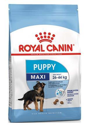 Сухой корм Royal Canin Maxi Puppy для щенков крупных пород с 2...