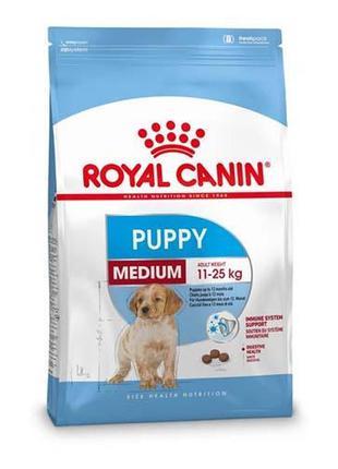 Сухой корм Royal Canin Medium Puppy для щенков средних пород д...