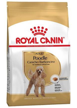 Сухой корм Royal Canin Poodle Adult для пуделей, 1.5 кг