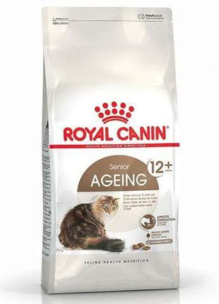 Сухой корм Royal Canin Ageing 12+ для кошек от 12 лет, 2 кг