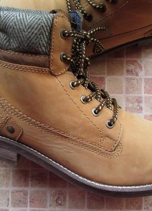 Ботинки мужские wrangler кожа