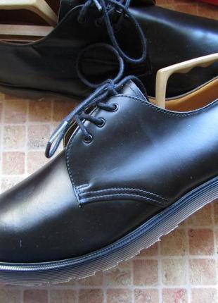 Туфли мужские dr martens кожа