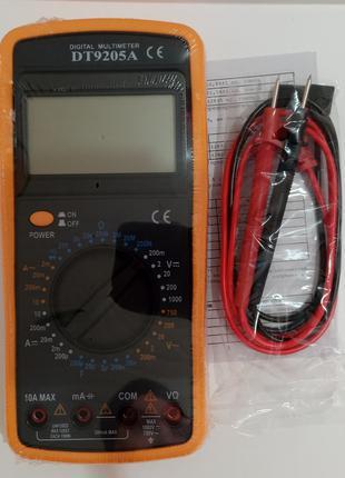 Цифровой тестер, мультиметр DT-9205
