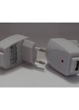 Сетевое зарядное устройство USB HOME 1000 AM (white)