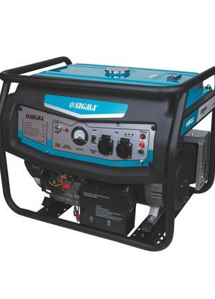 Генератор бензиновый 3.5/4.0кВт 4-х тактный ручной запуск SIGM...