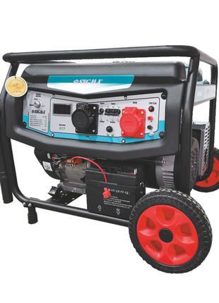 Генератор бензиновый 220-380В 7.5/8.0кВт 4-х тактный электроза...