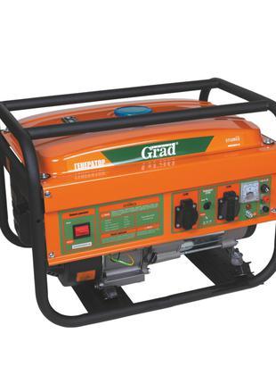 Генератор бензиновый 7.0/7.5кВт 4-х тактный электрозапуск GRAD...