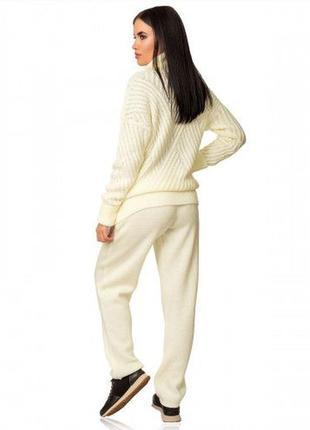 Вязаный костюм классический vanilla custard 2020