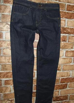 джинсы синие 11 - 12 лет  мальчику