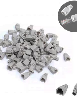 100шт. Колпачки для коннекторов RJ45 Cat5e UTP STP набор