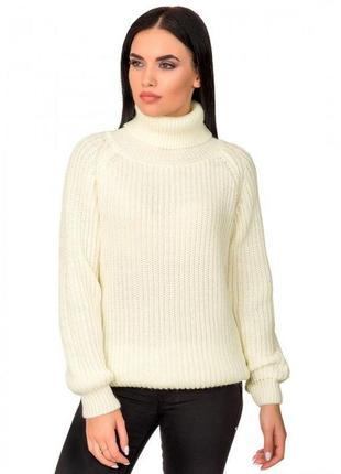 Вязаный классический свитер vanilla custard 2020