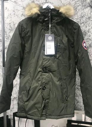 Зимняя куртка Canada Goose Carson Parka Military Green