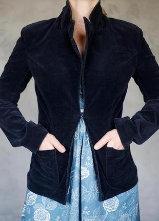 Massimo dutti пиджак актуальный в этом сезоне - вельвет